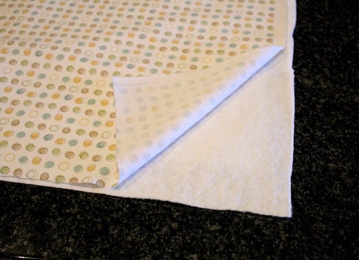 super easy baby shower quilt quilt sandwich