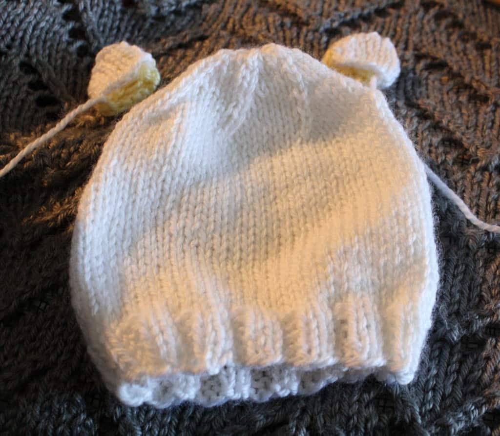 Baby Bear Ears Knitting Pattern Little Red Window