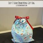 3 Seam Drawstring Gift Bag