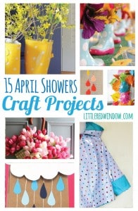 15 April Showers Craft Projects | littleredwindow.com