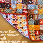 Super Easy Baby Shower Quilt