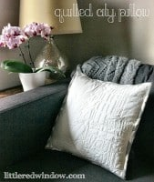 Quilted City Pillow