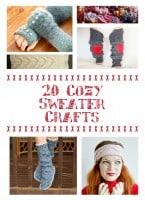 Cozy Sweater Crafts
