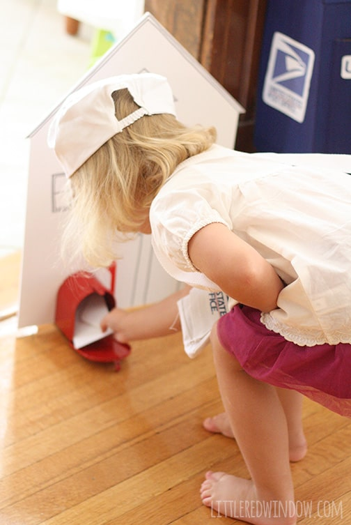 Post Office Birthday Party   littleredwindow.com   Tons of great ideas for your little mail carrier!
