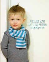 Kids Loop Scarf