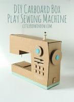 DIY Cardboard Box Sewing Machine