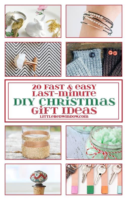 20 fast easy last minute diy christmas gift ideas for Easy last minute christmas gifts to make