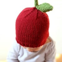 Apple Hat Knitting Pattern : knitting pattern Archives - Little Red Window