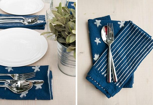 indigo-stars-diy-napkins