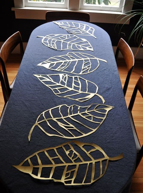 leaves-on-table