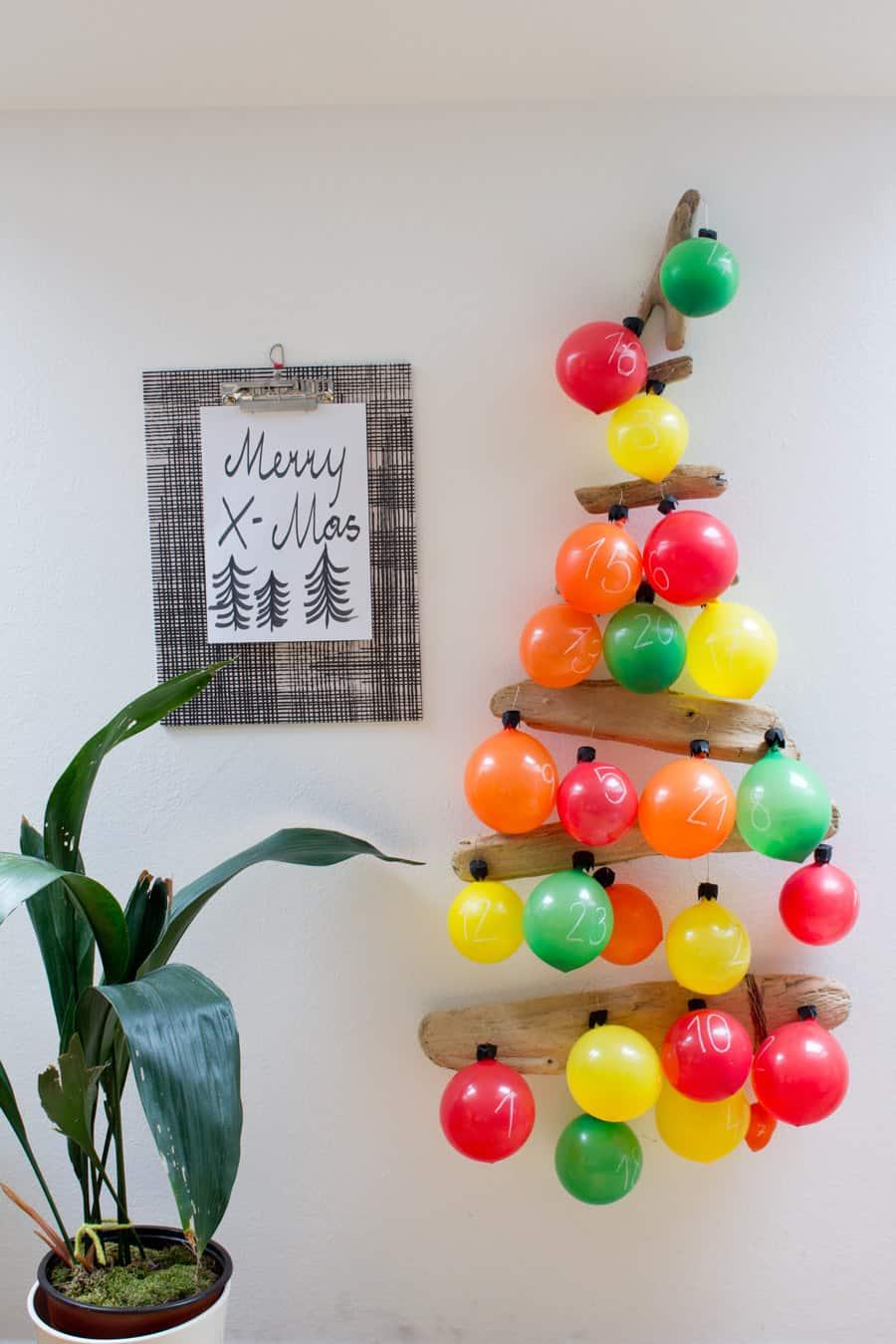 balloon-advent-calendar-tree