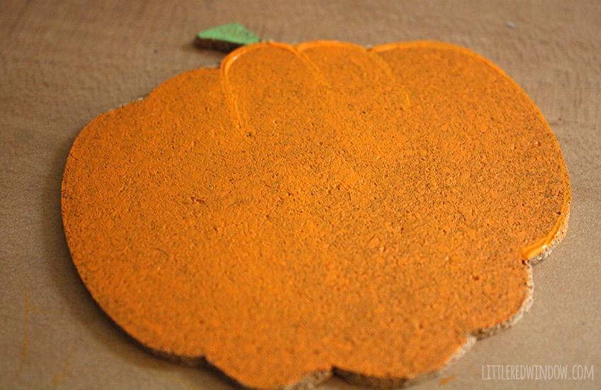 DIY Happy Halloween Pumpkin Coasters!  | littleredwindow.com