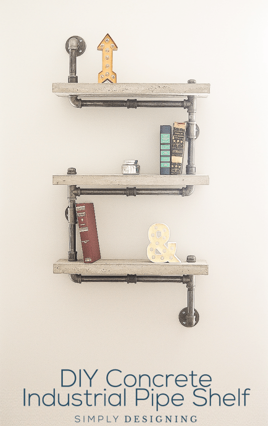 DIY-Concrete-Industrial-Pipe-Shelf-tutorial