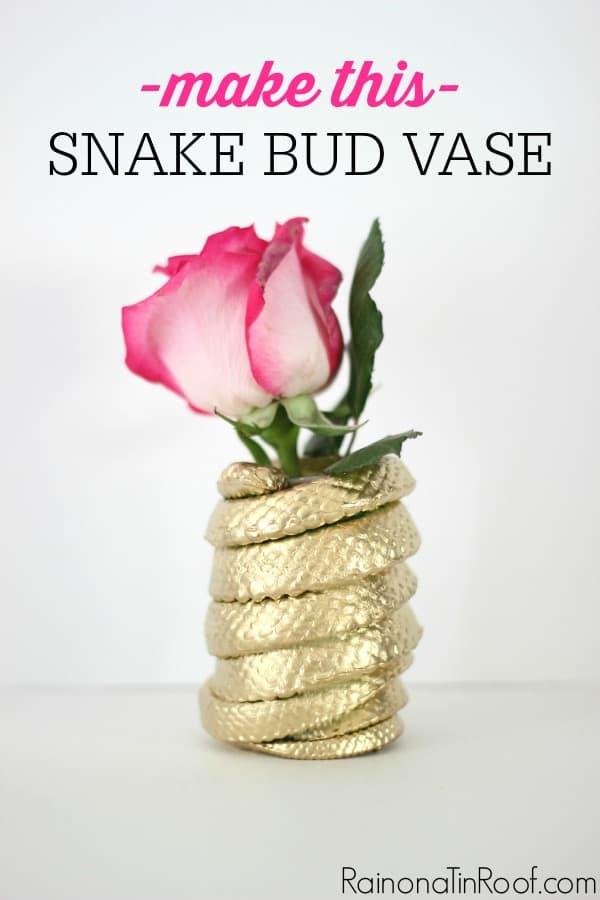 diy-snake-bud-vase
