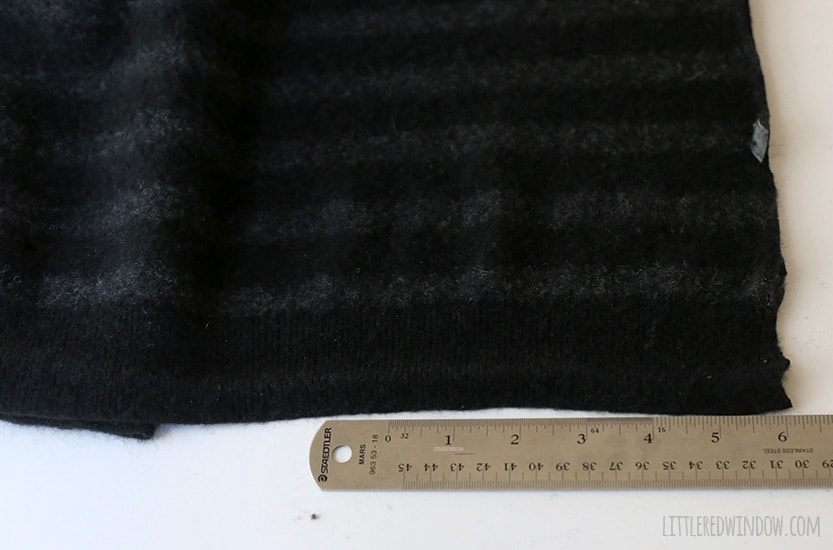 Super Simple Upcycled Felted Fingerless Gloves | littleredwindow.com
