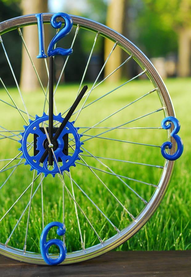 Bike-Rim-Clock