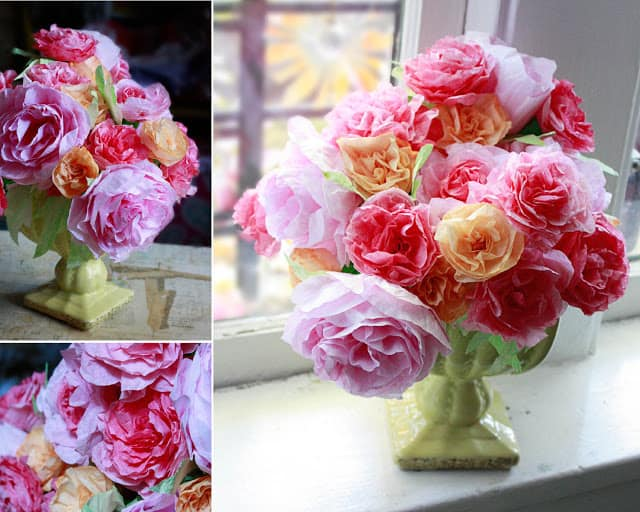 Coffee Filter roses 1 copyright www.auntpeaches