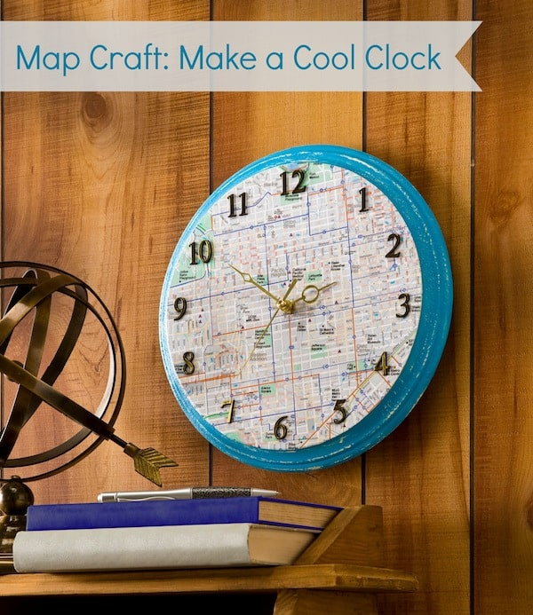 Map-craft-how-to-make-a-clock
