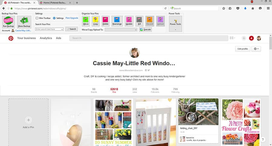 See individual pin repin counts on Pinterest even with the new aggregate repin counting!   littleredwindow.com