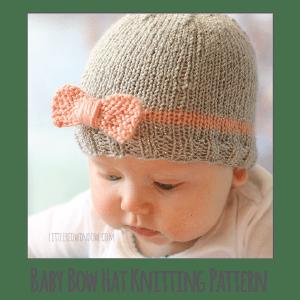 Knitting Pattern Baby Hat Animal : Knitting - Little Red Window