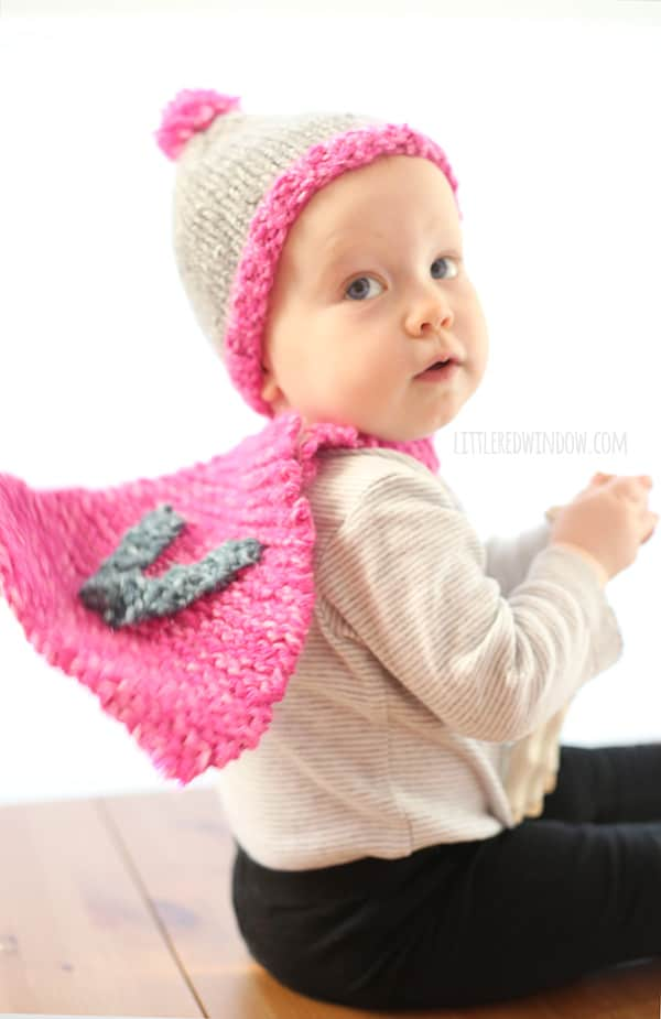 The Do-Gooder Hat free knitting pattern for donations! A great simple and quick pattern to make hats to donate to your favorite charity! | littleredwindow.com
