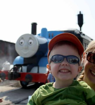 They're Two, They're Four, They're Six, They're Eight…. (Day out with Thomas the Train)