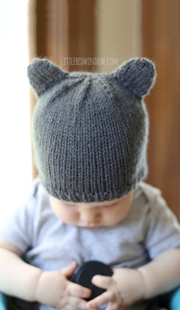 9e1f8a506cf Baby Bear Hat - a knitting pattern by Little Red Window