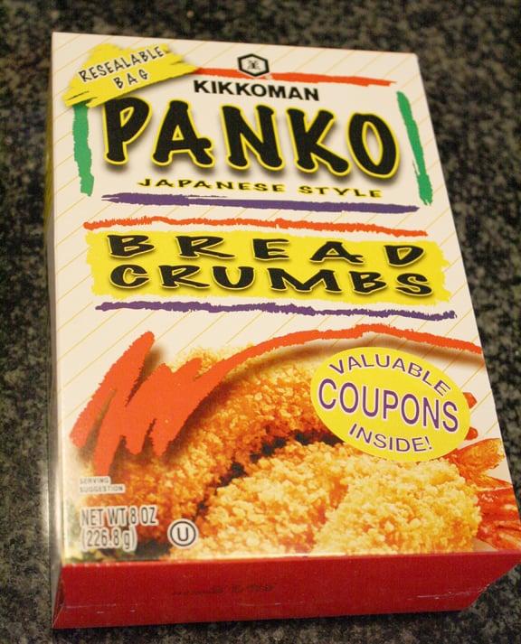 panko bread crumbs on Little Red Window