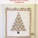 quilted Snowflake Advent Calendar