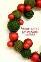 Yarn Ball Wreath