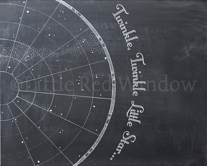 Twinkle Vintage Star Chart printable from LittleRedWindow on Etsy