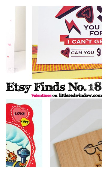 Etsy Finds No. 18 — Valentines