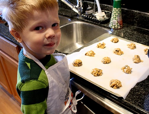 Coconut Oatmeal Raisin Cookie Recipe from littleredwindow.com | A new twist on an old classic with a crispy outside, chewy inside, they're soooo yummy!