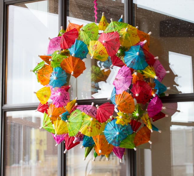 Umbrella-Wreath