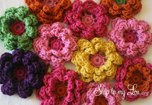 How-to-crochet-flowers