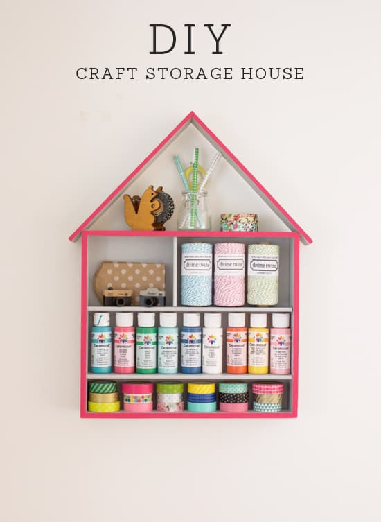 diy-craft-storage-house