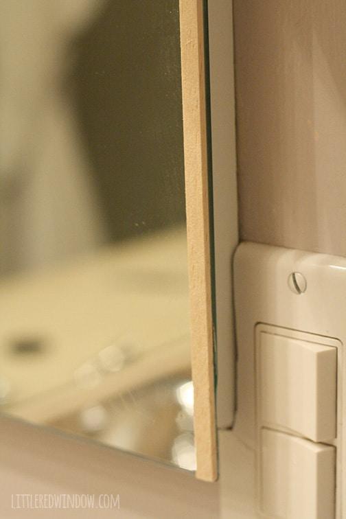 diy bathroom medicine cabinet mirror frame make a simple frame for