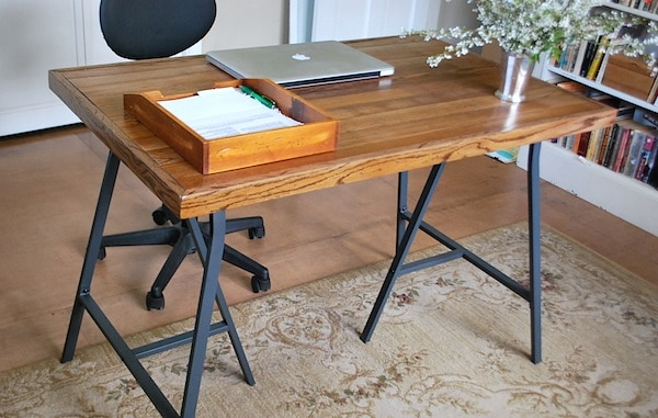 Salvaged-Wood-Desk-Front