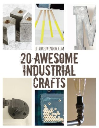 20 Awesome Industrial Crafts