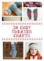 Cozy Sweater Crafts