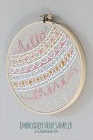 Embroidery Hoop Pocket