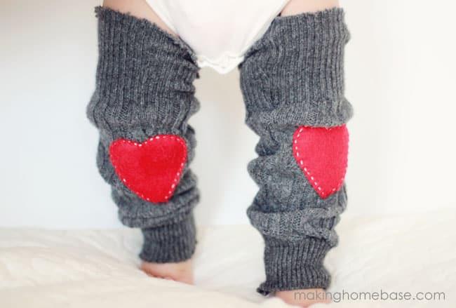 Heart-patch-sweater-leg-warmers