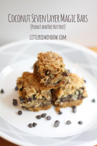7 Layer Magic Bars without Nuts Recipe