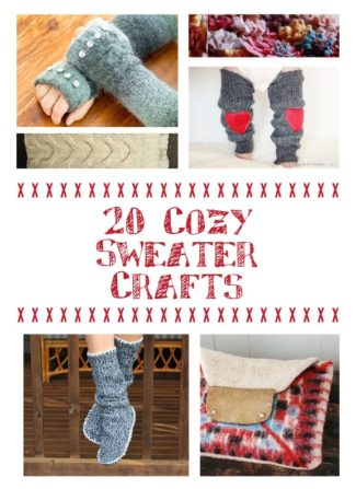 20 Cozy Sweater Crafts
