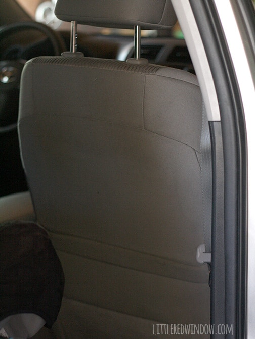 how to clean car seats diy