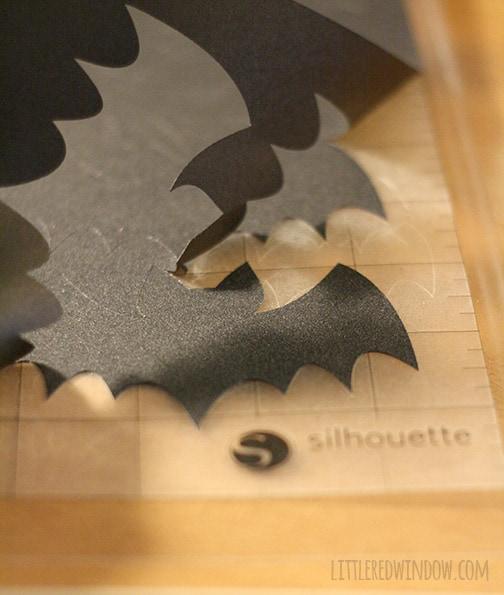 Spooky Halloween Bat Wreath | littleredwindow.com