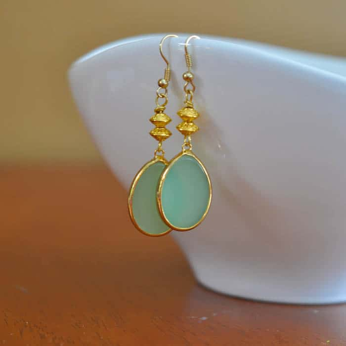 Gold-and-Green-Drop-Earring-Tutorial-Suburble.com-1-of-1