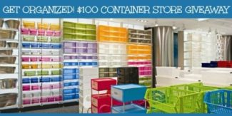 Get Organized $100 Container Store Giveaway