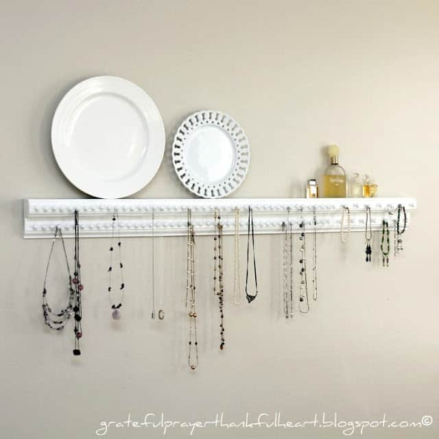 Greatful Prayer Thankful Heart Blog Jewelry necklace Organizer IMG_7096