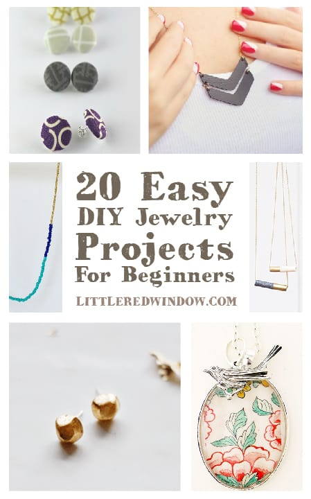 20 Easy Diy Jewelry Projects For Beginners Little Red Window